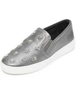 Leo Starburst Slip On Sneakers