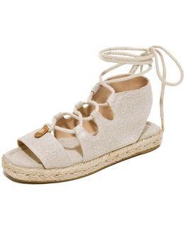 Mckenna Lace Up Sandals