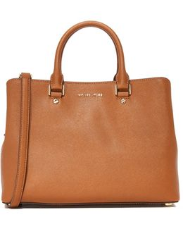 Large Savannah Satchel