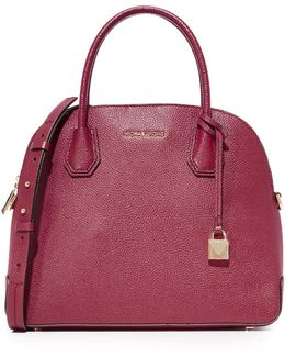 Large Mercer Dome Satchel