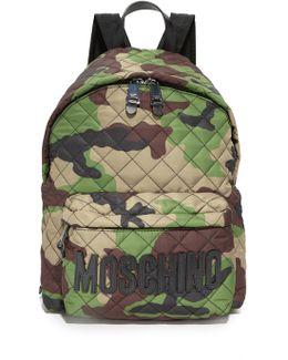 Nylon Backpack Camoflage/black