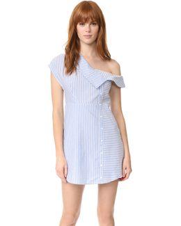 Oxford Asymmetrical Dress