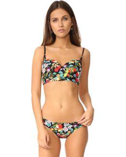 Amor Atitlan Coquette Bikini Top