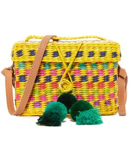 Baby Roge Pom-pom Shoulder Bag