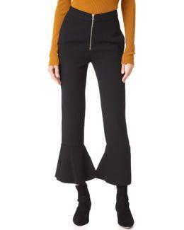 Zip Front Pants