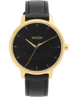 Kensington Watch With Leather Strap