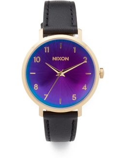 The Arrow Leather Watch, 38mm