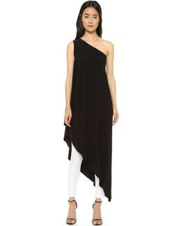 Kamali Kulture One Shoulder Diagonal Tunic
