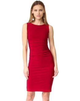 Kamali Kulture Sleeveless Shirred Waist Dress