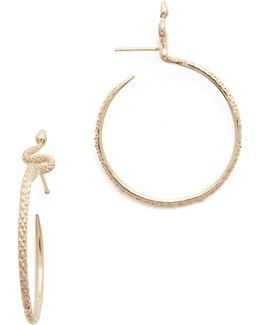 Sones Hoop Earrings