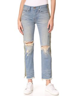 Maggie Straight Slouch Jeans