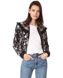 Whisper Bomber Jacket