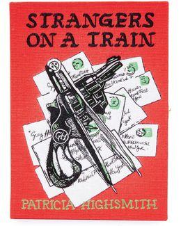 Strangers On A Train Book Clutch
