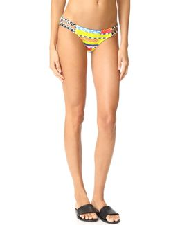 Azteca Strappy Low Rise Bottoms