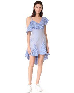 Daria Off Shoulder Ruffle Dress