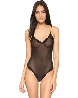 Tulle Brazilian Bodysuit