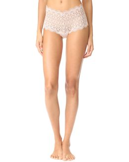 Italian Eco Lace Cheeky Thong