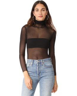 T Neck Bodysuit