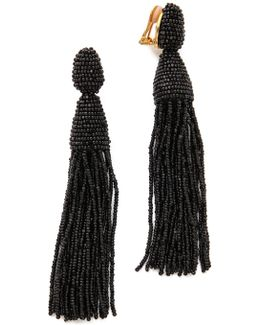 Classic Long Tassel Earrings