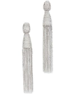 Classic Chain Tassel Earrings