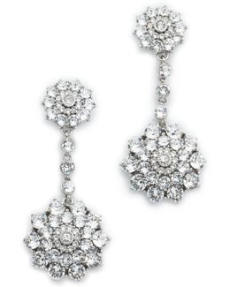 Classic Jeweled Drop Earrings