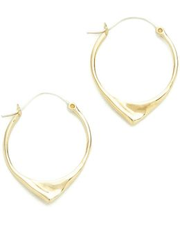 Kay Hoop Earrings
