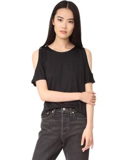 Alessa Cold Shoulder Tee