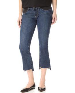 Maternity Riley Slim Crop Flare Jeans