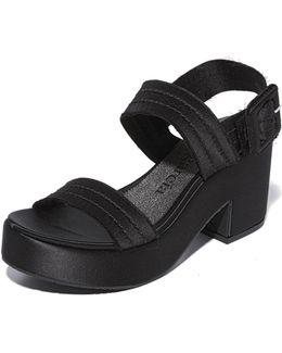 Decima Platform Sandals