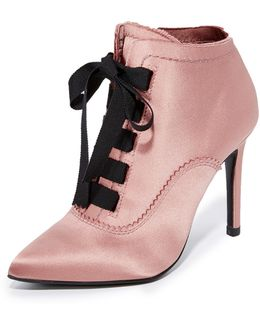 Ana Lace Up Booties