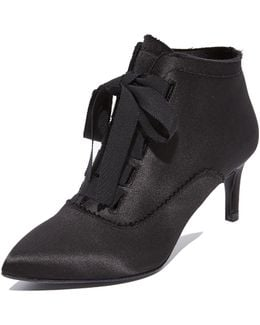Eulalia Lace Up Booties