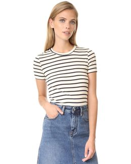 1x1 Iconic Striped Tee