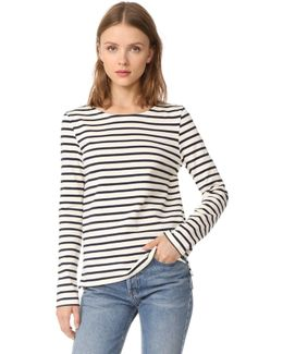 Leny Long Sleeve Striped Tee