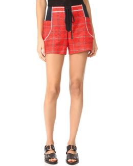 Shorts With Front Tie