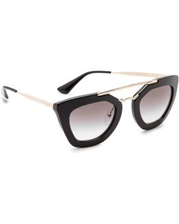 Thick Frame Sunglasses