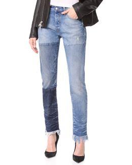 El Camino Tapered Boyfriend Jeans