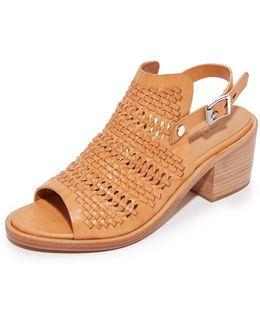 Wyatt Mid Heel Sandals