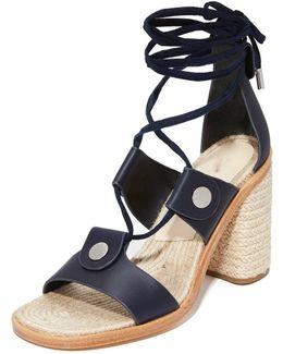 Eden Lace Up Sandals