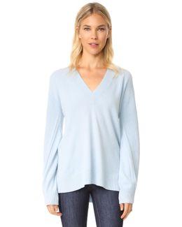 Ace Cashmere V Neck Sweater