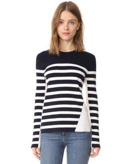Cecille Stripe Pullover