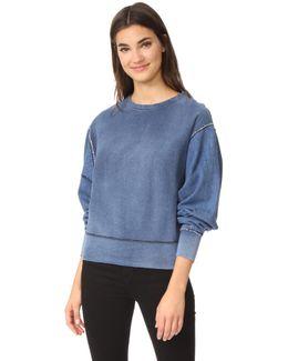 Indigo Baby Racer Sweatshirt