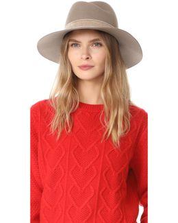 Zoe Fedora Hat