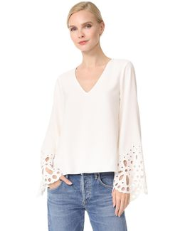 Remi Embroidered Blouse