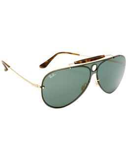 Pilot Aviator Flat Sunglasses