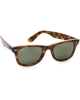 Wayfarer Slantless Sunglasses