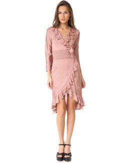 Ls Ruffle Dress