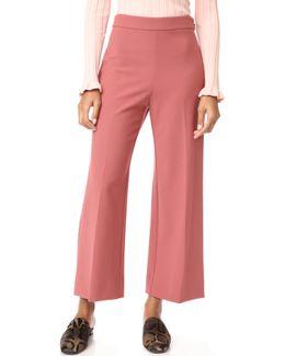 Crop Suit Pants
