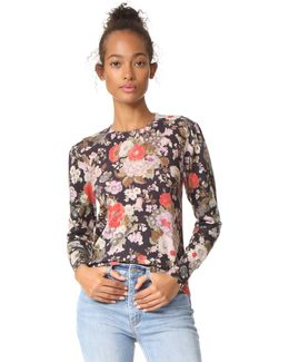 Lua Floral Pullover