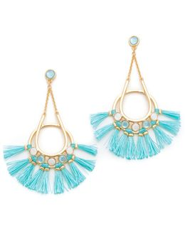 Utopia Tassel Chandelier Earrings