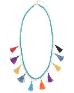 Sofia Tassel Layering Necklace
